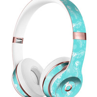 Stenciled Feather Pattern Full-Body Skin Kit for the Beats by Dre Solo 3 Wireless Headphones