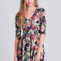 Palm Beach Floral Dress