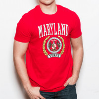 University of Maryland Classic Crest (Red) / Shirt