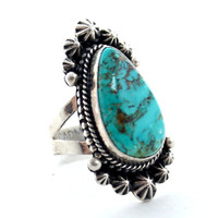 Sunny Daze Turquoise Native American Ring