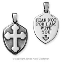 """""""Fear Not..."""" Pendant from James Avery"""
