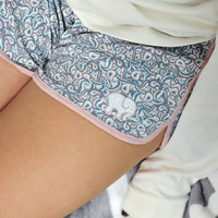 Paisley Printed Sleep Shorts