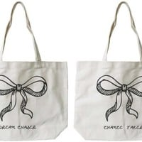 Dream & Chance BFF Canvas Bags - 365 Printing Inc