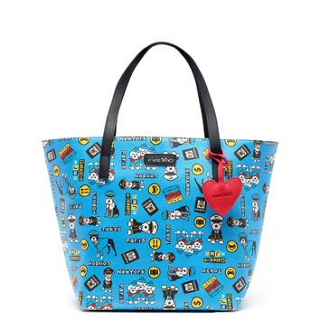Travel Tote Bag with Dangle
