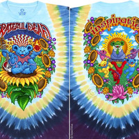 Guru Bear Grateful Dead Tie-Dye T-Shirt