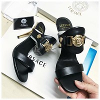 Versace Women Fashion Casual sandals Slipper Shoes