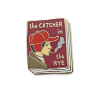 Catcher in the Rye Book Pin