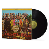 """THE BEATLES - """"Sgt Pepper's Lonely Hearts Club Band"""" vinyl record"""