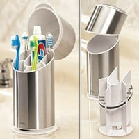 Toothbrush Organizer - Fresh Finds - Your Home > Bath & Personal Care