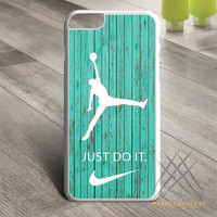 Nike Jordan Mint Wood Custom case for iPhone, iPod and iPad