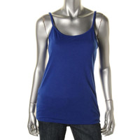 Style & Co. Womens Jersey Scoop Neck Cami