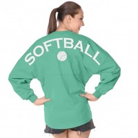 Softball - Classic Unisex Long Sleeve, Crew Neck Spirit Jersey®