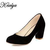 New Spring/autumn women's shoes Concise ol work Slip-On high heels customize small yards 31 32 33 plus size 40 41 42 43 HH-222-6