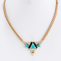 """""""Summer in Ibiza"""" Necklace (Turquoise)"""