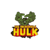 Incredible Hulk Reach Embroidered Iron-On Patch