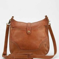 Frye Campus Leather Crossbody Bag- Brown One