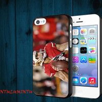 Colin kaepernick with a ball iPhone 5/5S/5C/4/4S, Samsung Galaxy S3/S4, iPod Touch 4/5, htc One X/x+/S