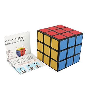Shengshou Speed Magic Cube Rubik's cube 3x3x3 (Color: Black) [8270577217]