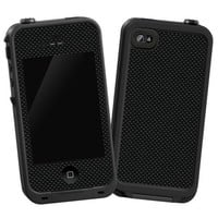 """Carbon Fiber Satin """"Protective Decal Skin"""" for LifeProof iPhone 4/4s Case"""