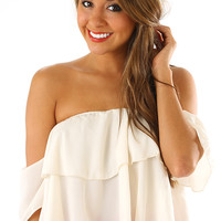 Thinking Simply Top: Ivory