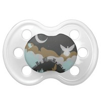 Pigeon in the Clouds 3 BooginHead Pacifier