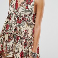 Free People Purple Haze Printed Tunic at asos.com
