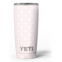 Pink Mint Wedding Paper La Boutique Dei Colori 1 - Skin Decal Vinyl Wrap Kit compatible with the Yeti Rambler Cooler Tumbler Cups