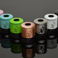 Mini Freakshow RDA by Wotofo (Black, Wht, Copper and S/S))