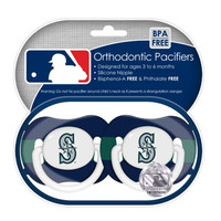 2 Pack Pacifiers - Seattle Mariners