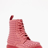 Dr. Martens Spike 8 Eye Boot - Pink