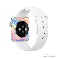 The Neon Color Fusion V13 Full Body Skin Set for the Apple Watch
