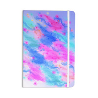 "Ebi Emporium ""Seeing Stars II"" Blue Pink Everything Notebook"