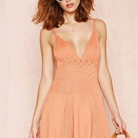 For Love & Lemons Dolly Knit Dress