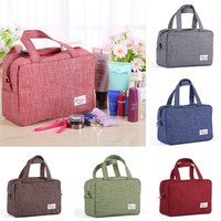 Cloth Zipper New Women Makeup bag Cosmetics bags Case Make Up Organizer Toiletry Storage Travel Wash pouch