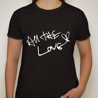 """One Direction """"All The Love / Harry Styles Autograph"""" T-Shirt"""