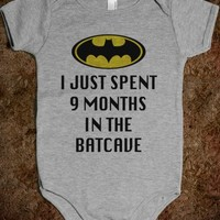 I JUST SPENT 9 MONTHS IN THE BATCAVE
