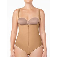 Strapless Thong Body Shaper