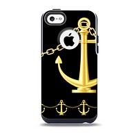 The Gold Linking Chain Anchor Skin for the iPhone 5c OtterBox Commuter Case