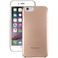 "MACALLY SNAPP6LCH iPhone(R) 6 Plus 5.5""""/6s Plus Snap-On Case (Metallic Champagne Gray)"