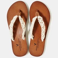 AEO Women's Crocheted Flip-flop