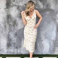Just Like A Dream Floral Dress