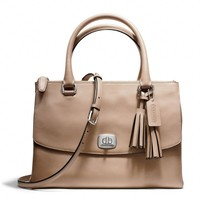 Coach :: New Legacy Harper Satchel In Leather