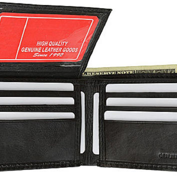 USA Genuine Leather Wallet Bi-fold