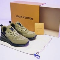 "Louis Vuitton SNEAKER VNR Men Shoes ""Green""HX3456-03"