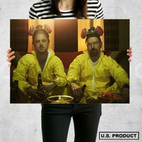 Poster Print Breaking Bad Wall Decor Canvas Print - halawatani.com