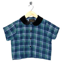 Motel Vintage Andy Blouse Full Check 0009 ONE SIZE