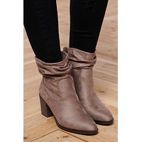 All Week Long Booties (Steel Grey)