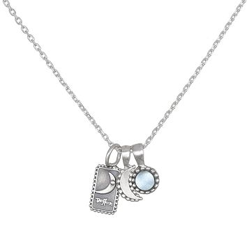 Enchanting Prophecy Silver Necklace