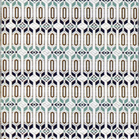 Mad Mats Moraccan Cool Silver Rug