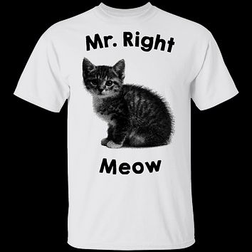 Mr. Right Meow T-Shirt